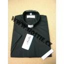 Kněžská košile - černé barvy
