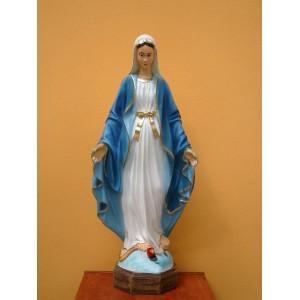 Socha Panny Marie - Neposkvrněné (90 cm)