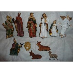 Betlém - komplet (střední) - figurky 19 cm