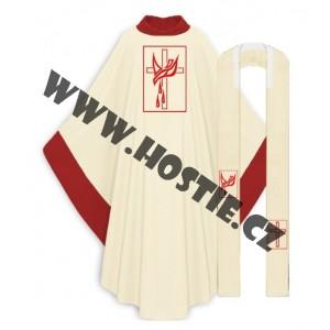 Kněžský ornát - holubice
