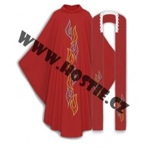 Kněžský ornát - plamen